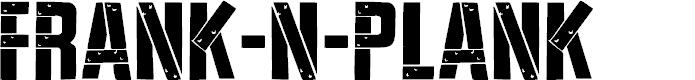 Preview image for Frank-n-Plank Regular Font