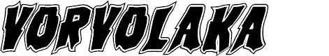 Preview image for Vorvolaka Academy Italic