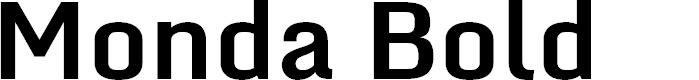 Preview image for Monda Bold