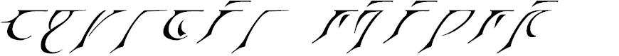 Preview image for Espruar Italic
