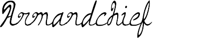 Preview image for Armand_chief Font