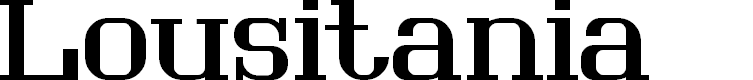 Preview image for Lousitania Font