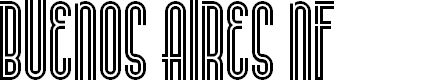 Preview image for BuenosAiresNF Font