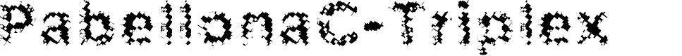 Preview image for PabellonaC-Triplex Font