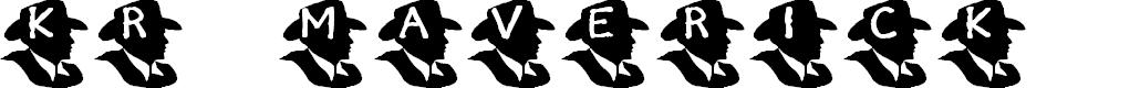 Preview image for KR Maverick Font