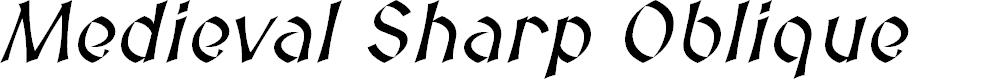 Preview image for Medieval Sharp Oblique
