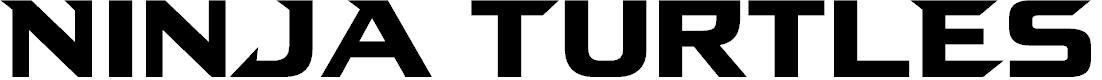 Preview image for Ninja Turtles Font