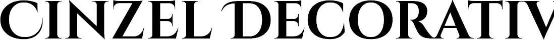 Preview image for Cinzel Decorative Bold