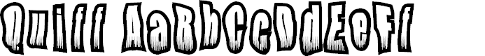 Preview image for Quiff Font