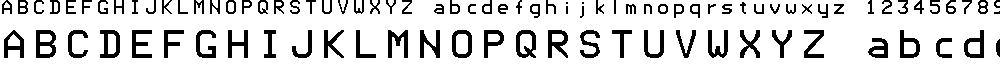 Preview image for TIFAX Font