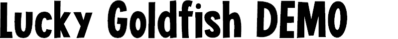 Preview image for Lucky Goldfish DEMO Regular Font