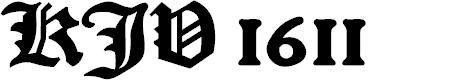 Preview image for KJV 1611 Font