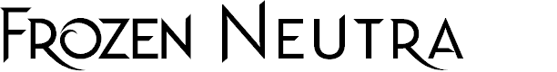 Preview image for Frozen Neutra Font