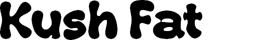 Preview image for Kush Fat Font