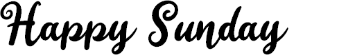 Preview image for Happy Sunday Font