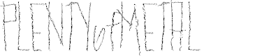 Preview image for PLENTYofMETAL Font