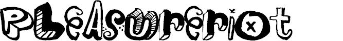 Preview image for PleasureRiot Font