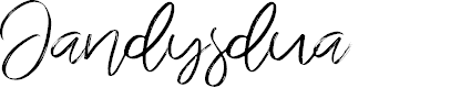Preview image for Jandysdua Font