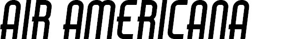 Preview image for Air Americana Font