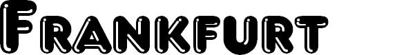 Preview image for Frankfurt Font
