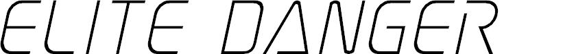Preview image for Elite Danger Italic