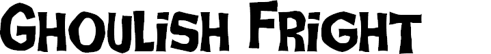 Preview image for Ghoulish Fright AOE Font
