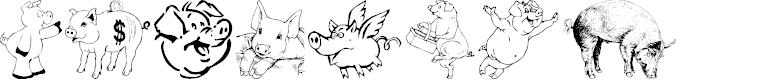 Preview image for Ein Schwein Font