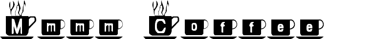 Preview image for Mmmm Coffee Font