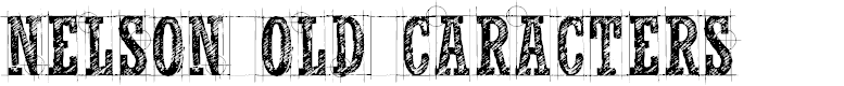 Preview image for CF Nelson Old Caracters Regular Font