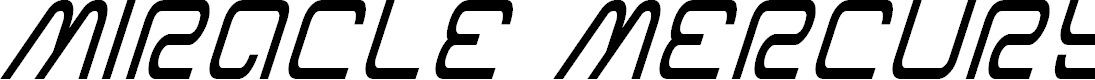 Preview image for Miracle Mercury Condensed Italic