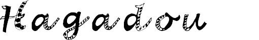 Preview image for Hagadou Regular Font