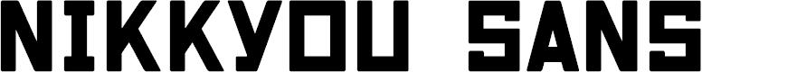 Preview image for Nikkyou Sans Font