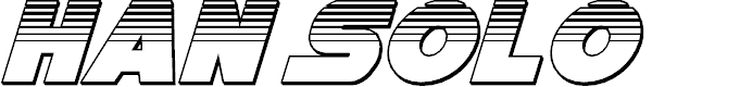Preview image for Han Solo Platinum Italic