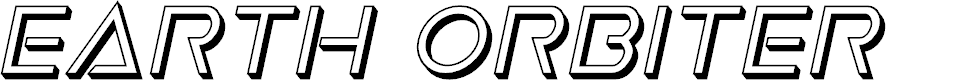 Preview image for Earth Orbiter Deep 3D Italic