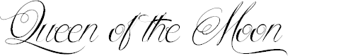 Preview image for Queen of the Moon Font