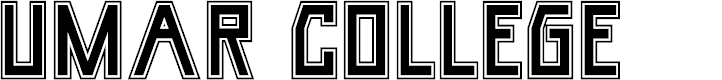 Preview image for Umar College Font