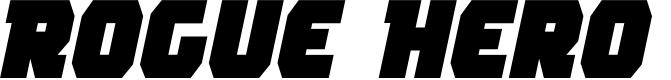 Preview image for Rogue Hero Semi-Italic