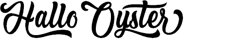Preview image for Hallo Oyster - Personal Use Font