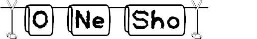 Preview image for DH O-Ne-Sho Font