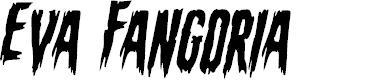 Preview image for Eva Fangoria Staggered Italic