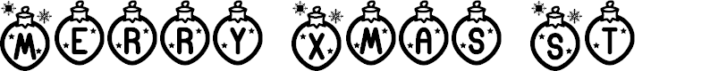 Preview image for Merry Xmas St Font