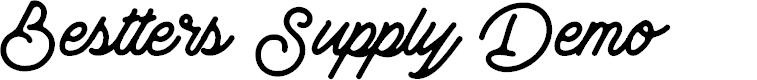 Preview image for Bestters Supply Demo Font