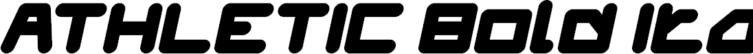 Preview image for ATHLETIC Bold Italic