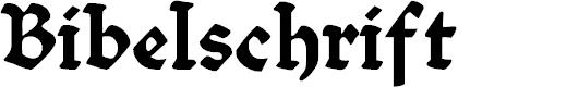 Preview image for Bibelschrift Font