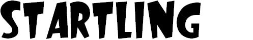 Preview image for Startling Font