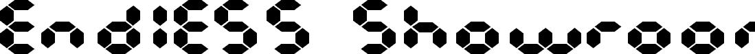 Preview image for Endless Showroom Regular Font
