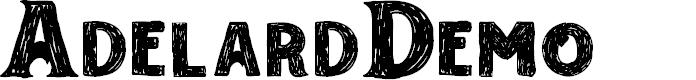 Preview image for AdelardDemo Font