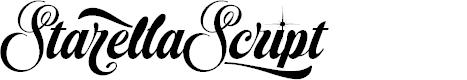 Preview image for Starella Script PERSONAL USE Font