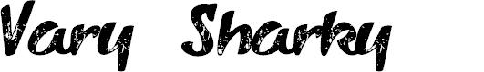 Preview image for VarySharky-Regular Font