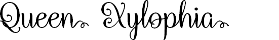 Preview image for Queen Xylophia Regular Font